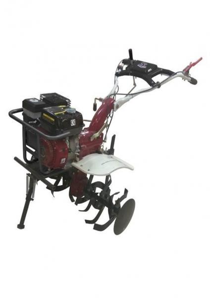 Motosapa Media Line 7CP MS 7100/5 CFB TOP cu roti cauciuc, roti metalice, plug simplu, plug bilonat, prasitoare, extractor cartofi [0]
