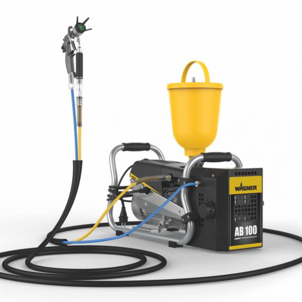 Pompa Airless cu Membrana pentru Vopsit WAGNER SuperFinish 23 Plus AirCoat – skid, debit material 2,6 l/min 0