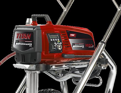 Pompa airless pentru gleturi si zugraveli Titan Performance 1650E HR 0