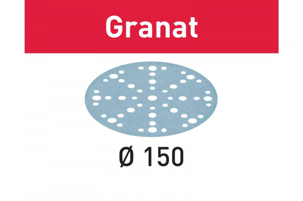 Festool Foaie abraziva STF D150/48 P40 GR/50 Granat [0]