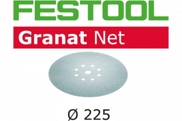 Festool Material abraziv reticular STF D225 P100 GR NET/25 Granat Net 0