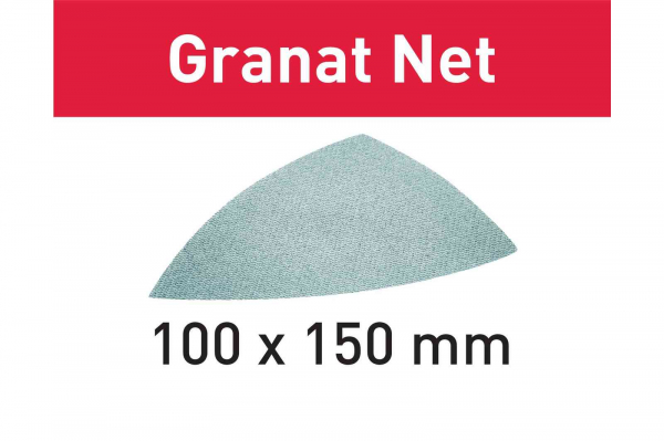 Festool Material abraziv reticular STF DELTA P400 GR NET/50 Granat Net 0