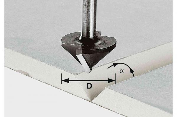 Festool Freză pentru gips-carton HW S8 D32/90° [0]