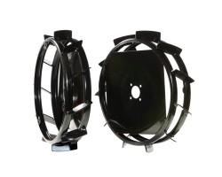 Bertolini Set roti metalice 480x100 mm 0