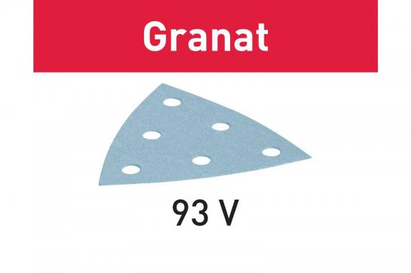 Festool disc de slefuire STF V93/6 P80 GR/50 Granat 0
