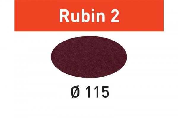 Festool Foaie abraziva STF D115 P80 RU2/50 Rubin 2 0