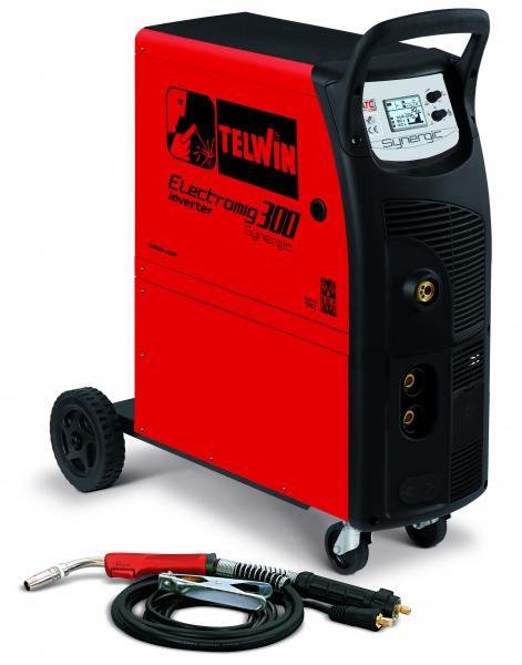 ELECTROMIG 300 SYNERGIC - APARAT DE SUDURA TELWIN tip MIG-MAG/TIG/MMA 0
