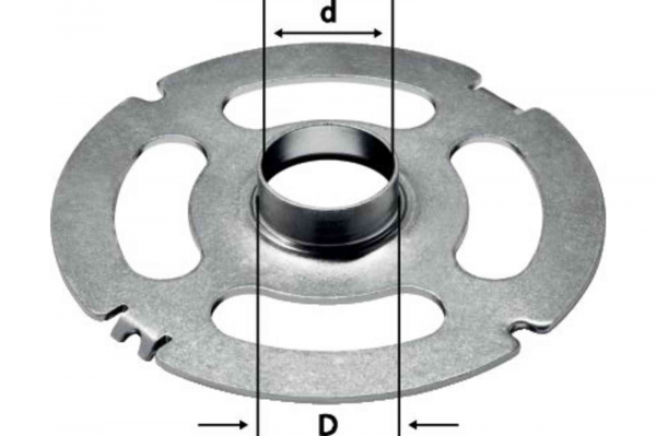 Festool Inel de copiere KR-D 27,0/OF 2200 0