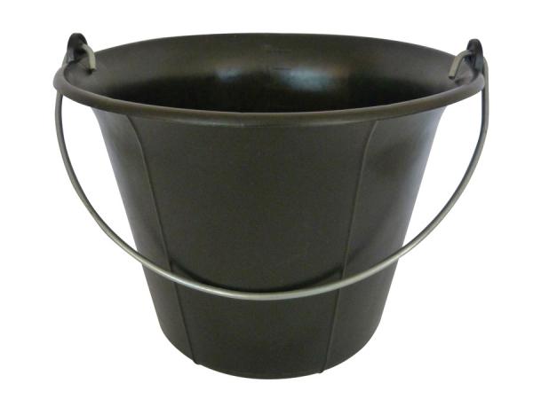 Galeti constructor din PVC negru, cu maner 11L (6,3) 0