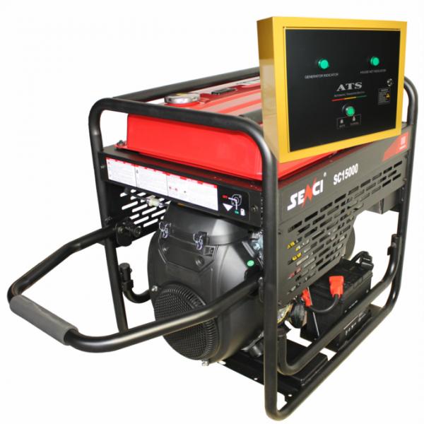 Generator de curent monofazat SC13000-EVO-ATS Putere max. 11 kW 0