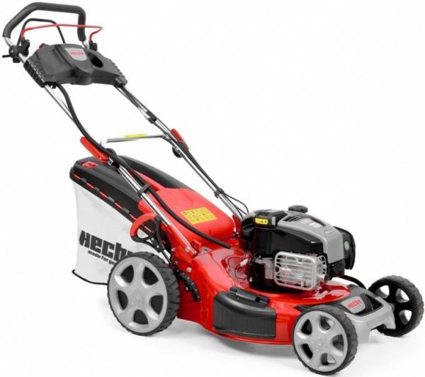 HECHT 548 INSTART Mașina de tuns iarba, motor benzina, 4.6 CP, latime de lucru 46 cm 1