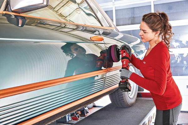 Masina de sefuit polisat cu acumulatori FLEX PE 150 18.0-EC SET 0
