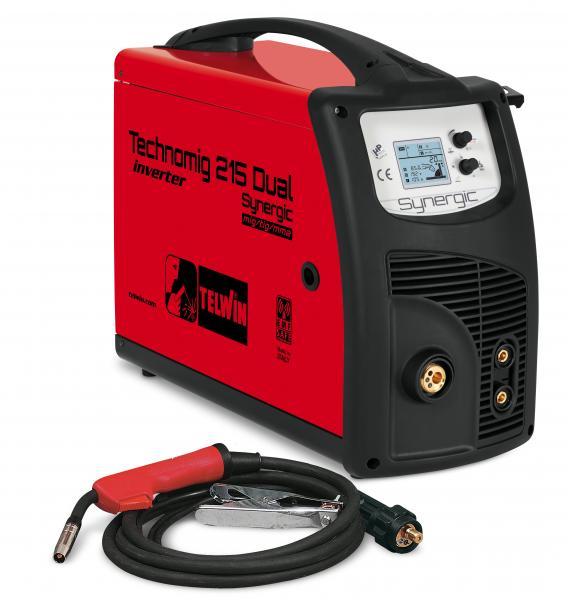 TECHNOMIG 215 DUAL SYNERGIC - APARAT DE SUDURA TELWIN tip MIG-MAG 0