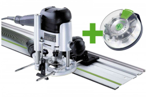 Festool Masina de frezat OF 1010 EBQ-Set + Box-OF-S 8/10x HW2