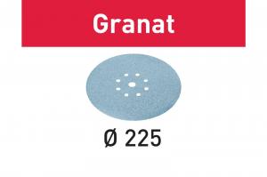Festool Foaie abraziva STF D225/8 P120 GR/25 Granat1