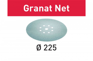 Festool Material abraziv reticular STF D225 P120 GR NET/25 Granat Net3