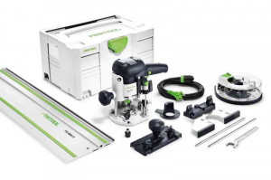 Festool Masina de frezat OF 1010 EBQ-Set + Box-OF-S 8/10x HW1