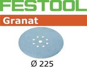 Festool Foaie abraziva STF D225/8 P180 GR/25 Granat [0]