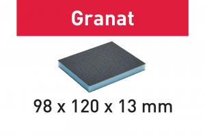 Festool Burete de şlefuit 98x120x13 800 GR/6 Granat0