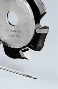 Festool Freză de canelat in forma de V HW 118x14-90°/Alu0