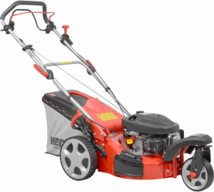 Hecht 5433 SW Masina de tuns iarba, motor benzina, autopropulsata, 2.5 CP, latime de lucru 43 cm0