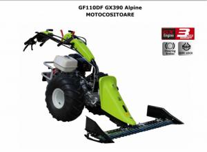 Motocositoare Grillo GF110DF Alpine motor HONDA GX390 13.0 HP 127 cm SP2