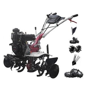 Motosapa Media Line 5.5 CP MS 5100 DCF Pachet Top + roti pneumatice + roti metalice + plug bilonat + plug simplu prasitoare + extractor cartofi0