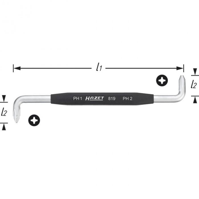 Cheie Fixa 819-PH1+PH2 0