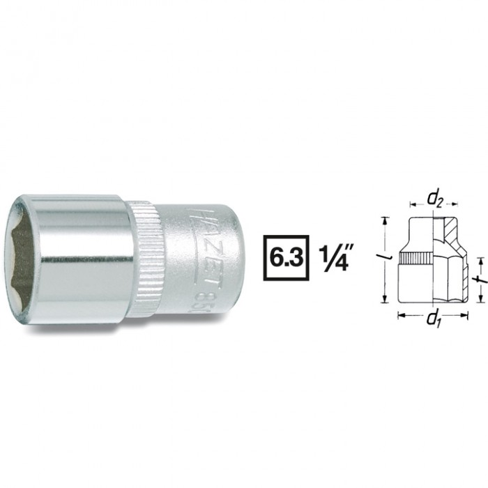 Cheie Hexagonala 850A-1/4 [0]
