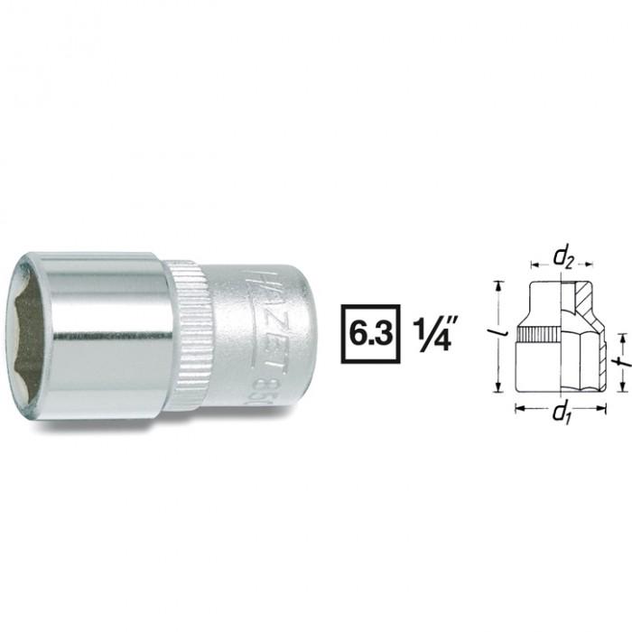 Cheie Hexagonala 850A-1/2 [0]