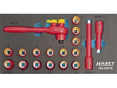 Set scule VDE HZ163-230/18 0