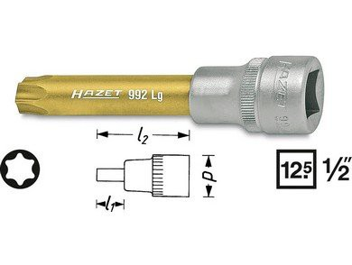 Hazet Cheie torx T70 HZ992LG-T70 0