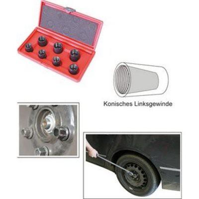 Set extractor suruburi / piulite uzate cu diametre intre ø17 0