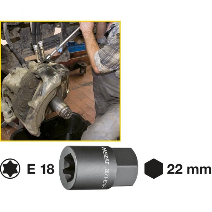 Cheie Tubulara Profil E 2871-E18 0