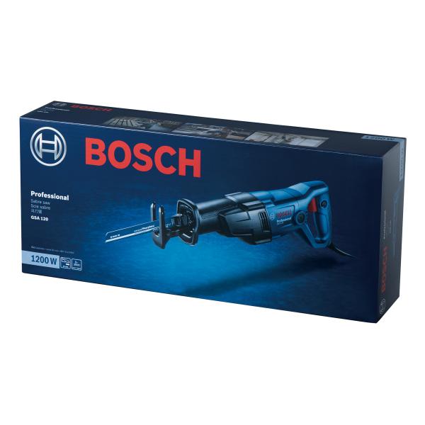 Fierastrau sabie Bosch GSA 120, 1200W, 3000 curse/min 1