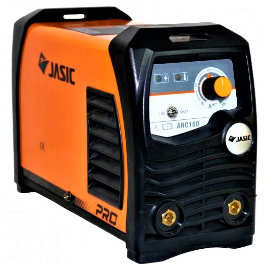 Aparat de sudura invertor Jasic ARC 160 PRO, 10-160A, MMA/TIG, 7.1kVa, electrozi 1.6mm-4mm, bazici/rutilici/supertit 0