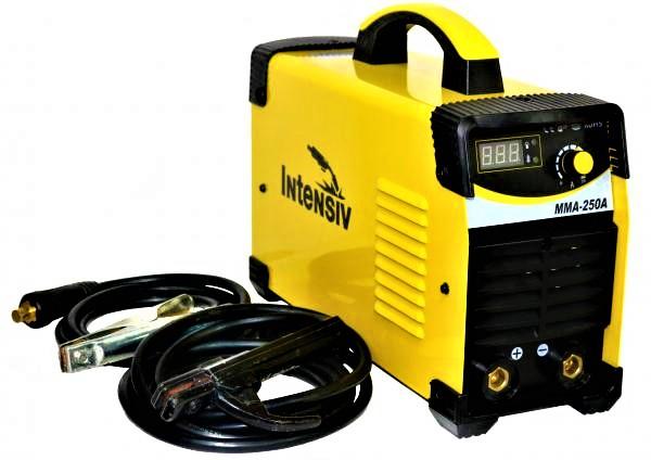 Aparat de sudura invertor Intensiv MMA 250, 20-250A, MMA, electrozi 1.6mm-4mm, bazici/rutilici/supertit 4