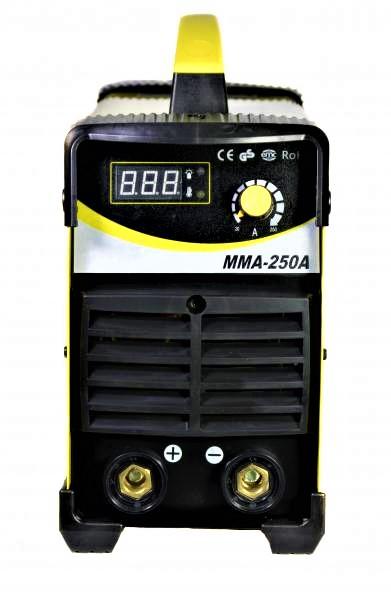 Aparat de sudura invertor Intensiv MMA 250, 20-250A, MMA, electrozi 1.6mm-4mm, bazici/rutilici/supertit 2