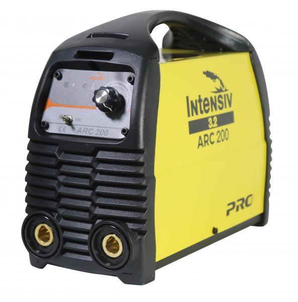 Aparat de sudura invertor Intensiv ARC 200 VRD, 10-200A, 9.4KvA, MMA/TIG, electrozi 1.6mm-4mm, bazici/rutilici/supertit 1
