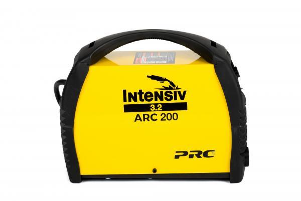 Aparat de sudura invertor Intensiv ARC 200 VRD, 10-200A, 9.4KvA, MMA/TIG, electrozi 1.6mm-4mm, bazici/rutilici/supertit 2