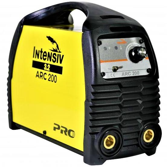 Aparat de sudura invertor Intensiv ARC 200 VRD, 10-200A, 9.4KvA, MMA/TIG, electrozi 1.6mm-4mm, bazici/rutilici/supertit 0