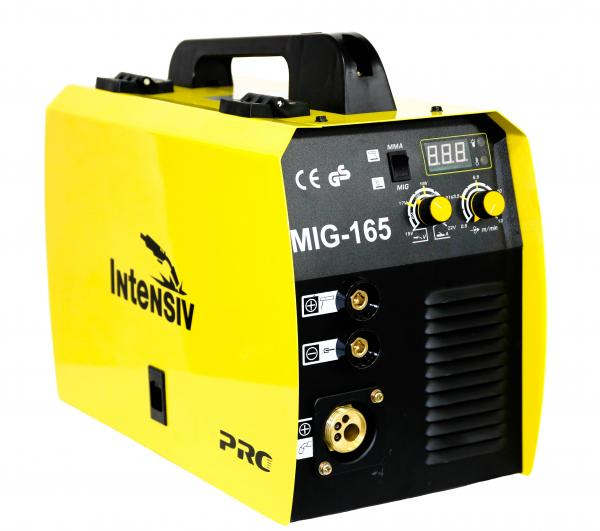 Aparat de sudura invertor Intensiv MIG 165, 30-160A, MIG-MAG/MMA, GAS/NO GAS, electrozi 1.6mm - 3.2mm bazici/rutilici/supertit 0