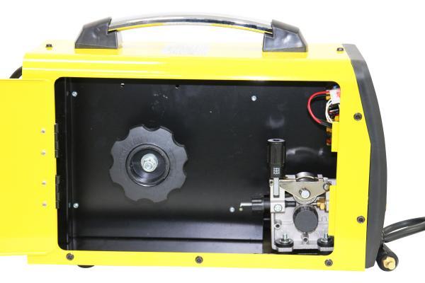 Aparat de sudura invertor Intensiv MIG 175, 20-160A, MIG-MAG/MMA, TIG DC, GAS/NO GAS, FLUX 1mm, electrozi 1.6mm - 3.2mm bazici/rutilici/supertit 3