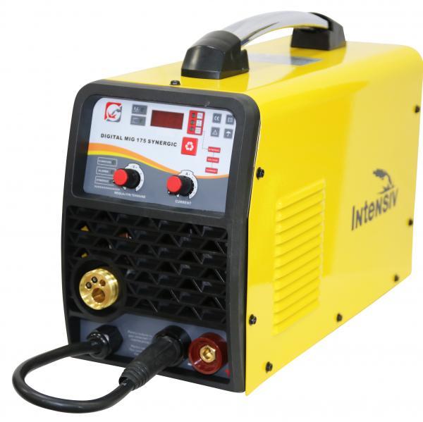 Aparat de sudura invertor Intensiv MIG 175, 20-160A, MIG-MAG/MMA, TIG DC, GAS/NO GAS, FLUX 1mm, electrozi 1.6mm - 3.2mm bazici/rutilici/supertit 2