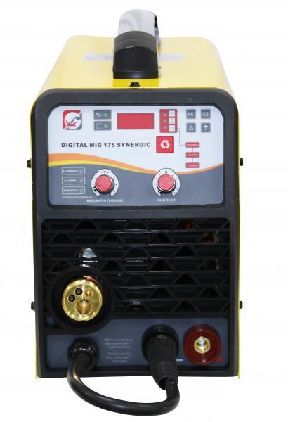 Aparat de sudura invertor Intensiv MIG 175, 20-160A, MIG-MAG/MMA, TIG DC, GAS/NO GAS, FLUX 1mm, electrozi 1.6mm - 3.2mm bazici/rutilici/supertit 1