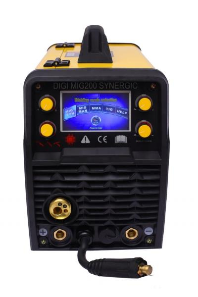 Aparat de sudura invertor Intensiv DIGI MIG 200 SYNERGIC, 10-200A, MIG-MAG/TIG/MMA, GAS/NO GAS, sarma/FLUX 0.6-1.2mm 1