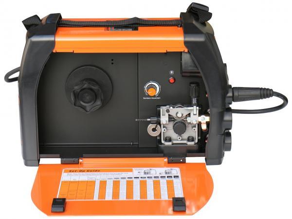 Aparat de sudura invertor Jasic MIG 160, 10-160A, MIG MAG MMA, GAS/NO GAS, sarma/FLUX 0.6-1mm 2