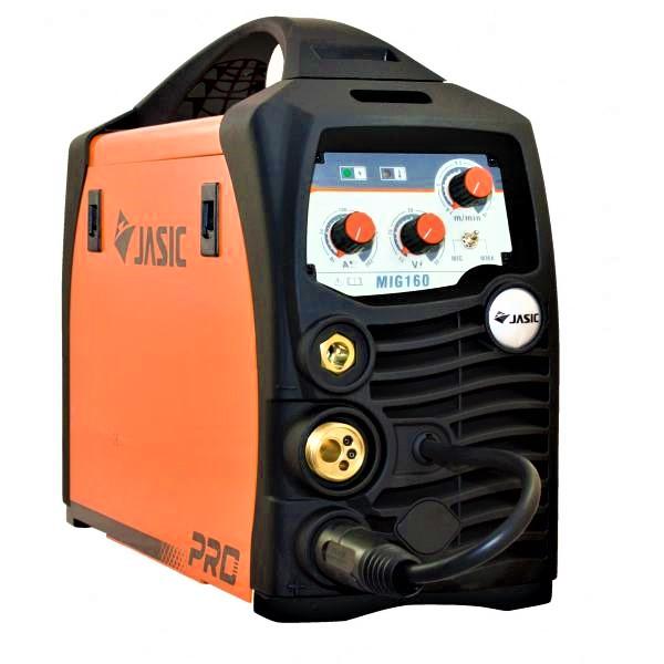 Aparat de sudura invertor Jasic MIG 160, 10-160A, MIG MAG MMA, GAS/NO GAS, sarma/FLUX 0.6-1mm 0