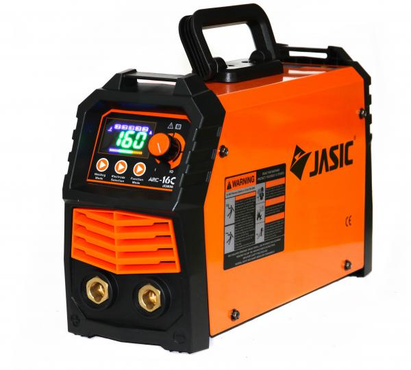 Aparat de sudura invertor Jasic ARC 160 LED SYNERGIC, 20-160A, MMA, electrozi 1.6mm-3.2mm, bazici/rutilici/supertit [1]