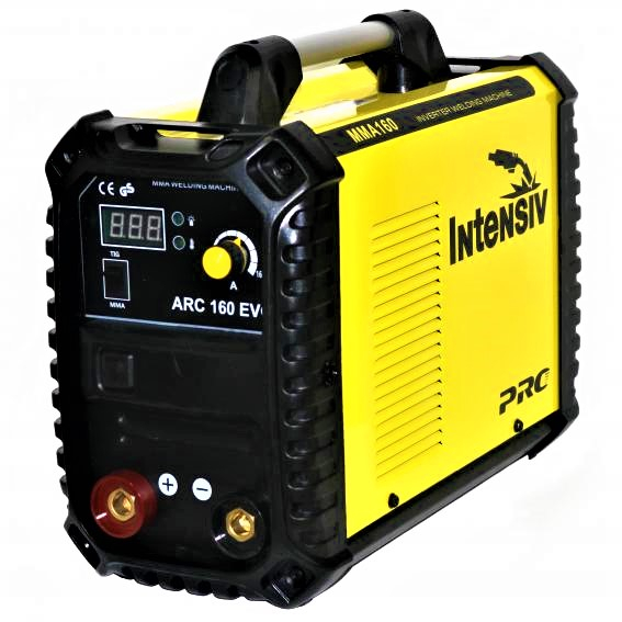 Aparat de sudura invertor Intensiv ARC 160 EVO, 20-160A, MMA, electrozi 1.6mm-4mm, bazici/rutilici/supertit 1